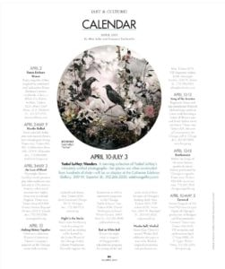 Modern Luxury | Art & Culture Calendar 20150401_Page_1